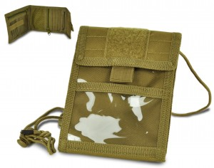 ID Holder - paszportówka coyote tan